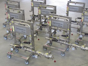 DENWEL Mobile Inline Carbonation